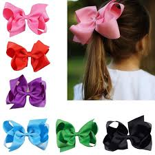 the ribbon boutique wholesale wholesaler 6 inch hair bow solid grosgrain ribbon boutique baby