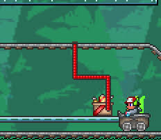 Terraria How To Make A Bed Pressure Plate Track Official Terraria Wiki