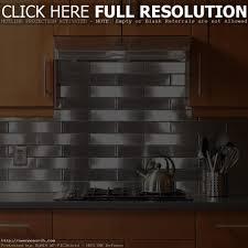 kitchen u shape kitchen decoration using silver metal backsplash
