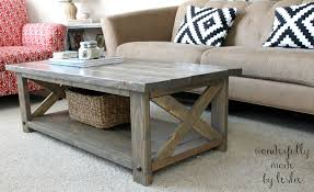 coffee table diy plans les proomis