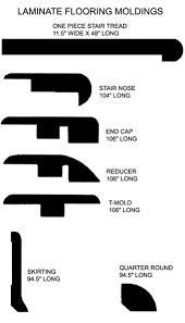 laminate flooring molding u s floor masters