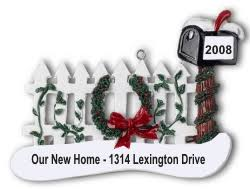 home mailbox personalized ornaments