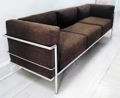 sofa lc3 le corbusier lc3 grand confort sofa at 1stdibs
