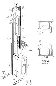 patent us7984793 mast construction for a lift truck google patents