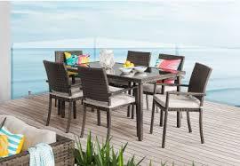 Outdoor Furniture Joondalup - patmos 7 piece outdoor setting amart furniture