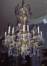 Florian Crystal Chandelier Antiques Com Classifieds Antiques Antique Lamps And Lighting