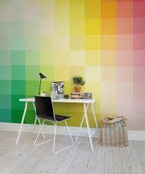 papier peint bureau comment ajouter de belles couleurs à bureau bricobistro