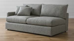Who Makes Crate And Barrel Sofas Lounge Ii Left Arm Sofa Crate And Barrel