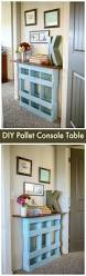 Pallet Console Table Pallet Furniture Ideas With 25 Complete Diy Projects Page 2 Of 3