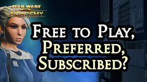 swtor bounty hunter guide swtor free to play vs preferred vs subscriber guide
