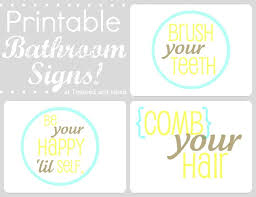 Free Printable Bathroom Art 103 Best Printables Bathroom Images On Pinterest Bathroom