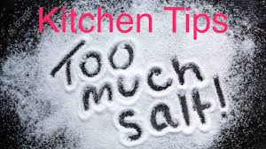 important kitchen tips how to reduce excess salt from a dish