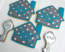 Housewarming Cookies Custom Decorated Cookies By Pumssweets On Etsy