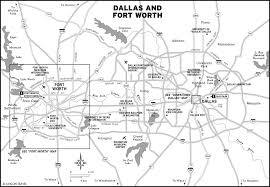 Map Dallas Printable Travel Maps Of The Southwest U0026 Texas Travel Maps