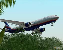 the airbus a330 300 aeroflot russian airlines for gta san andreas