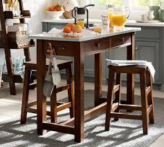 Pottery Barn Kitchen Island Balboa Counter Height Table U0026 Stool 3 Piece Dining Set Pottery