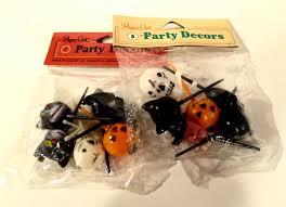 halloween cupcake topper cake decorations 12 plastic picks 4