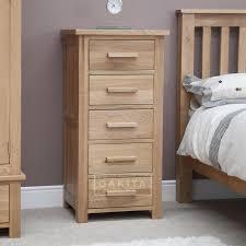 Edinburgh Solid Oak Tallboy Oak Chest Of Drawers Oak Furniture - Edinburgh bedroom furniture
