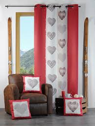Becquet Rideaux Occultants by Rideaux Style Montagnard Rideau Chalet Taupe Oeillets With