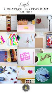 simple creative invitations creativity for tinkerlab