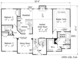 split foyer house plans oakmont house floor plan frank betz associates