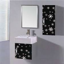 Bathroom Vanity With Side Cabinet China Small Wall Mounted Stainless Steel Bathroom Vanity With Side