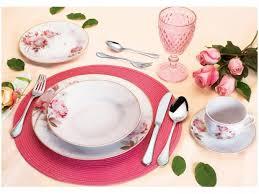 imagenes de feliz sabado vintage aparelho de jantar 30 peças casambiente porcelana redondo branco e