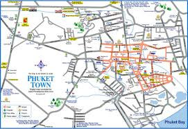 Phuket Map Map Phuket City