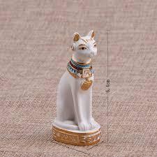 modern cat god ornaments miniature figurines animals crafts