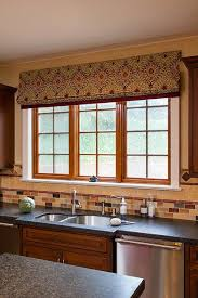 Roman Shades Styles - the most attractive roman blinds for kitchen windows home designs
