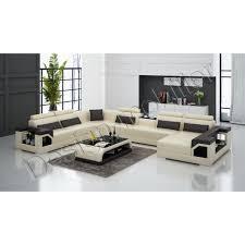 canap grande taille le canapé en cuir de luxe est d une très grande taille