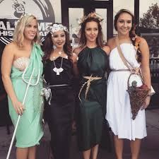 artemis halloween costume group halloween costume idea greek goddesses amphitrite goddess