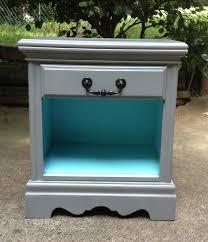 gray nightstand nightstands turquoise and gray