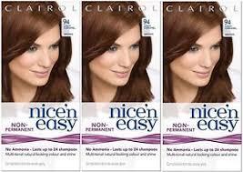 light caramel brown hair color 3x clairol nice n easy hair dye 94 light caramel brown lasts up to