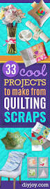 33 cool projects to make from quilting scraps leftover fabric
