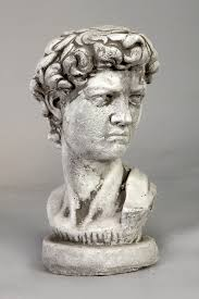 garden image david michelangelo concrete roma garden statues