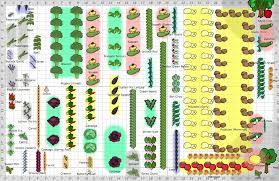 layout of garden