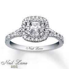 jewelers wedding rings sets neil engagement ring 1 ct tw diamonds 14k white gold
