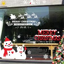 Creative Christmas Window Decorations by Stickers Home Decor Picture More Detailed Picture About Creative