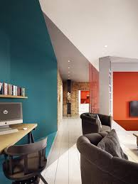 home design degree a stunning apartment with colorful geometric design