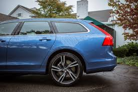blue volvo station wagon 2018 volvo v90 review the easiest hard sell roadshow