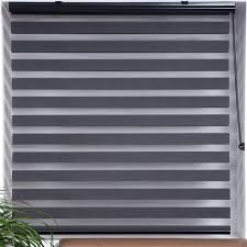 window blinds window blinds and shades dark gray sheered shade