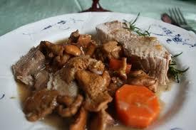 cuisiner un filet mignon de porc en cocotte filet mignon de porc en cocotte aux girolles cooking