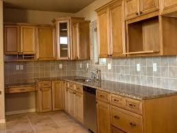 Natural Wood Kitchen Cabinets by Kitchen Astonishing Kitchen Cabinets Ideas Brown Color Hickory