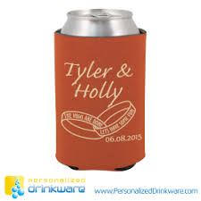 wedding personalized koozies buy wedding koozies custom wedding coolers koozie wedding