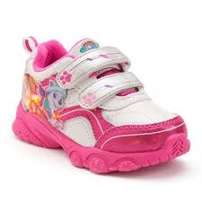 paw patrol light up sneakers paw patrol girls skye everest light up from kohl s