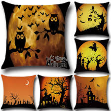 happy halloween cover photo compare prices on knit pillow cover online shopping buy low price