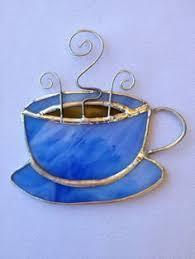 stained glass ornaments stained glass ornament coffee mug i