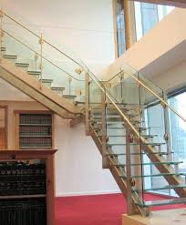 Glass Banisters For Stairs Glass Staircase Stair Company