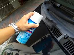 nissan almera air cond filter diy fix bad smell in car air conditioner with lysol